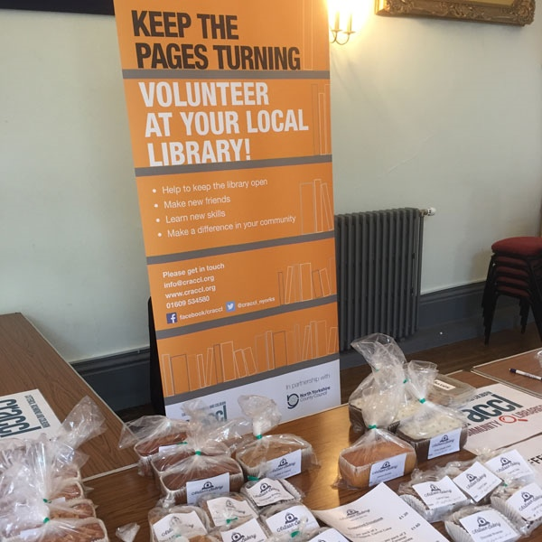 CRACCL Coffee Morning at Richmond Town Hall